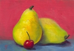 19- Pears and Cherry