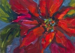 79- Red Poinsettia