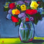 Acrylic Flower bouquet 1-100dpi