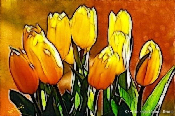 tulip-yel_bouquet