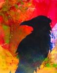 Raven-2--mixed-media-a-stencil