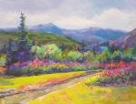 Sheep's Mountain with Fireweed